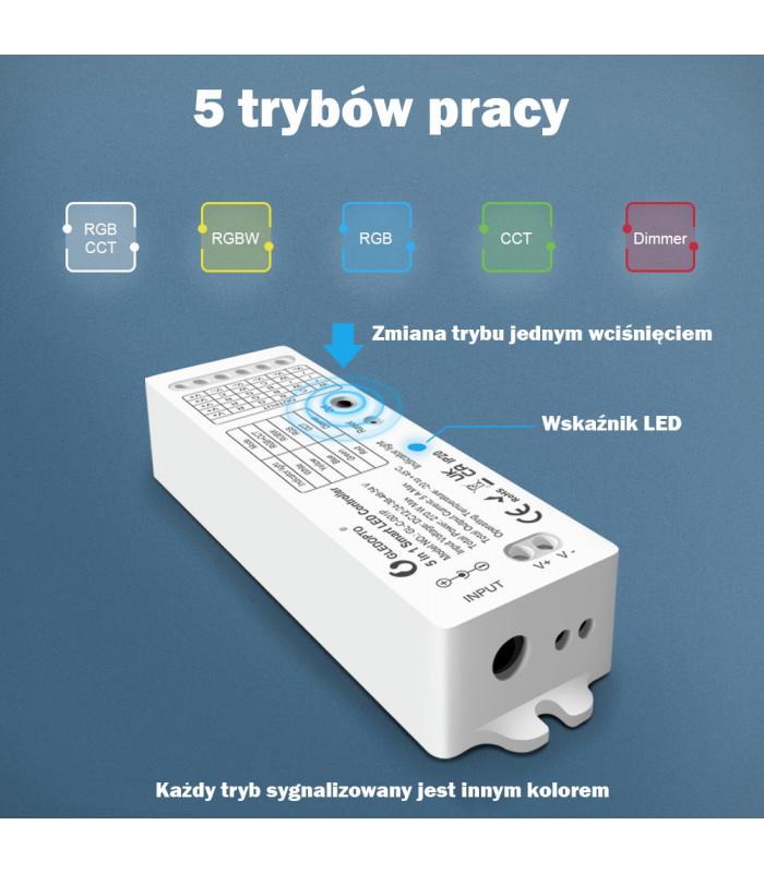 Sterownik ZigBee do taśm LED do Philips Hue TUYA ConBee