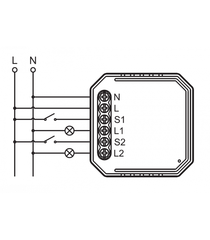 Podwójny moduł ZigBee LN