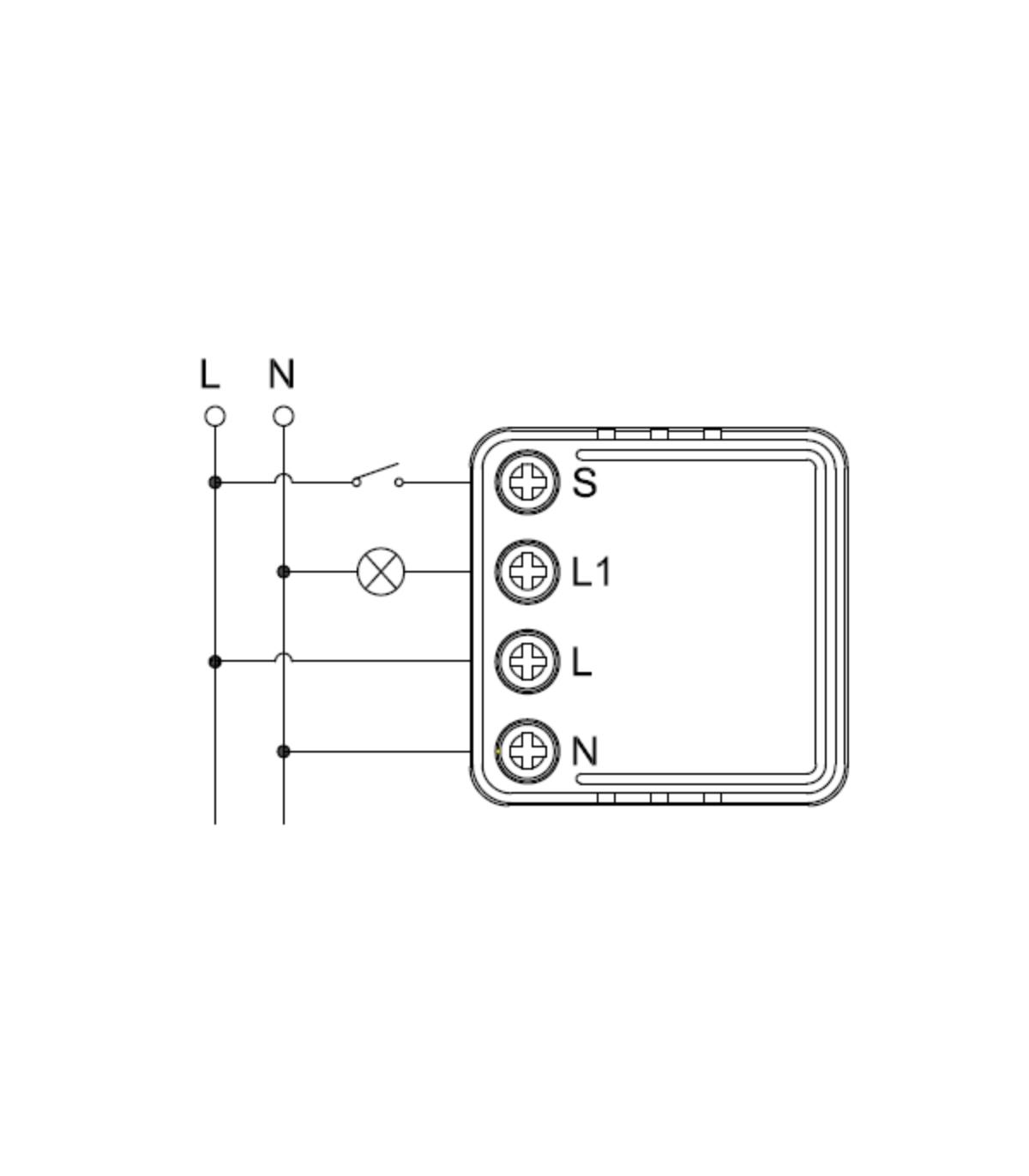 Mini włącznik WiFi TUYA 3680W