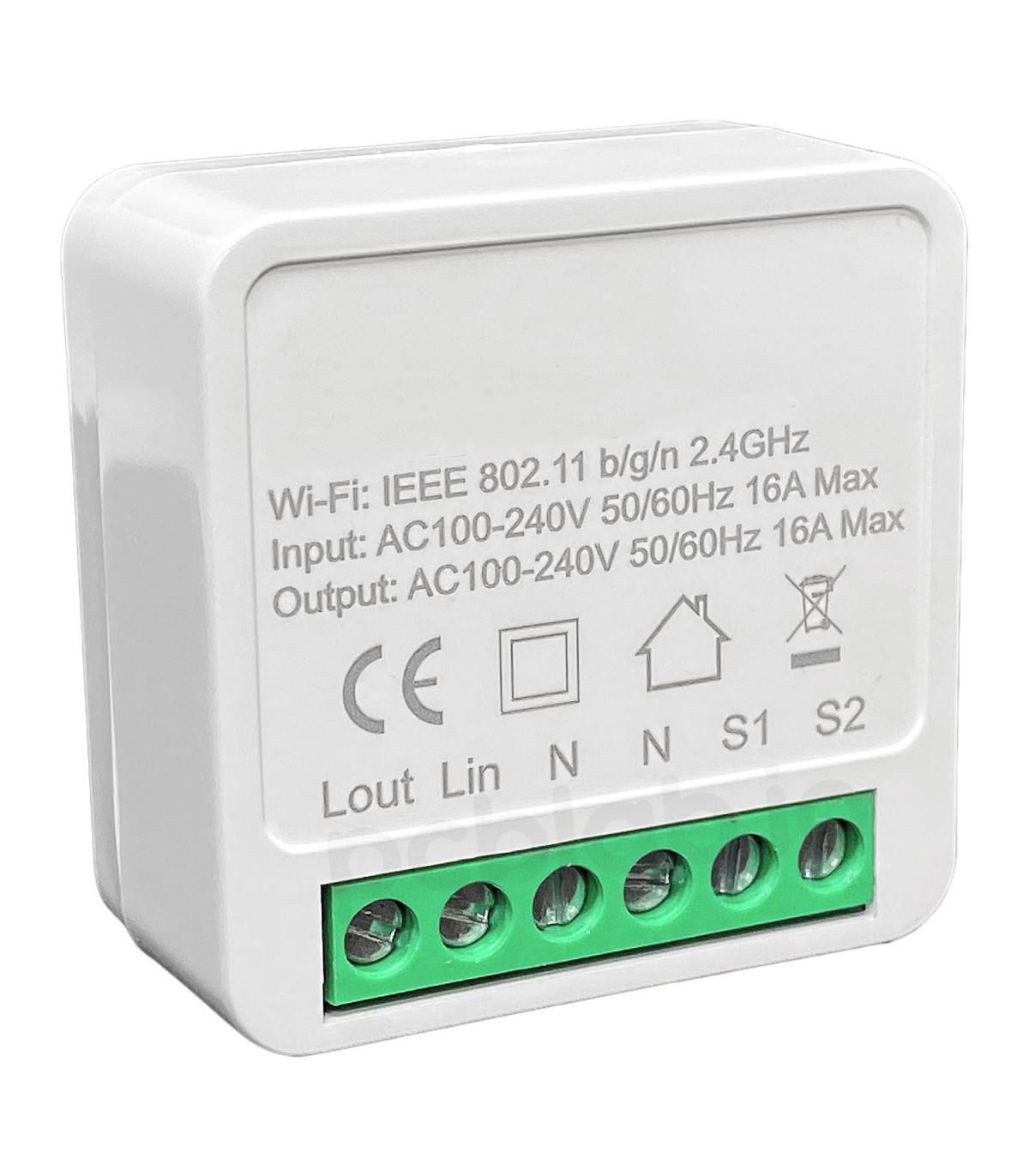 Mini przekaźnik WiFi do puszki TUYA 3500W