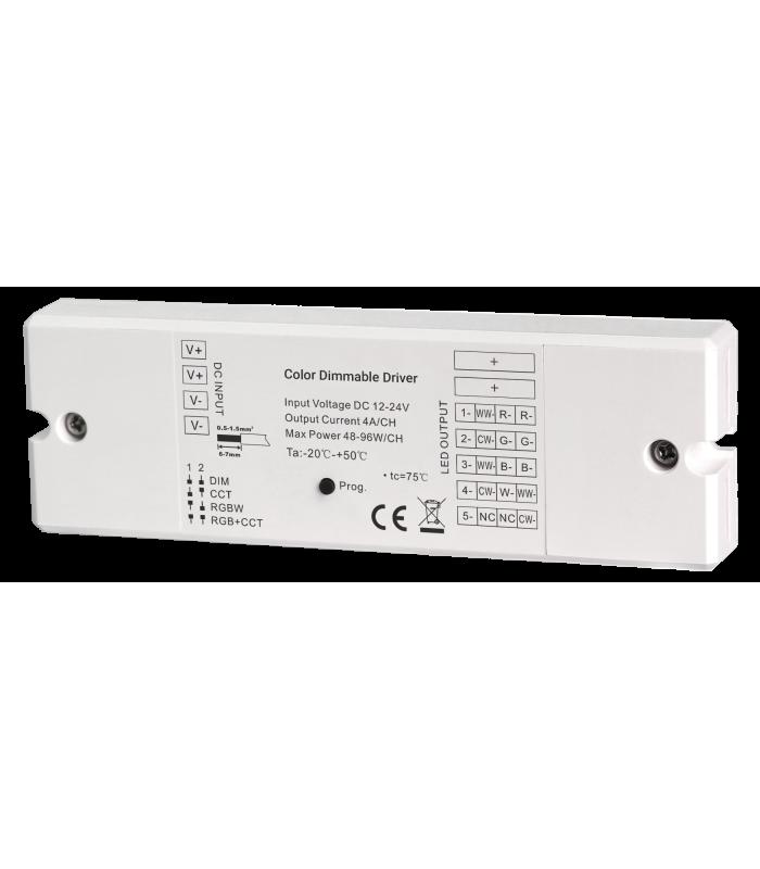 Sterownik 4A ZigBee do taśm LED RGB+CCT Hue
