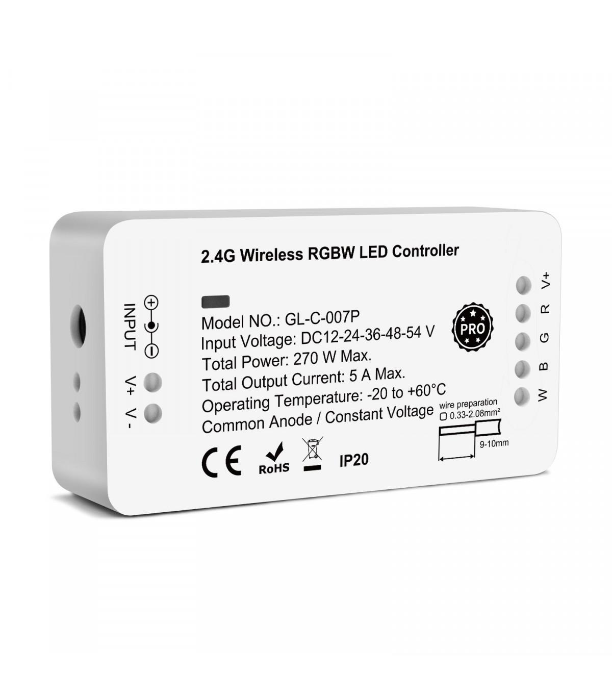 Sterownik ZigBee do pasków LED RGBW Hue