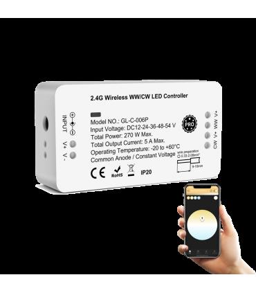 Sterownik ZigBee do pasków LED biały WW CW Philips Hue Tuya