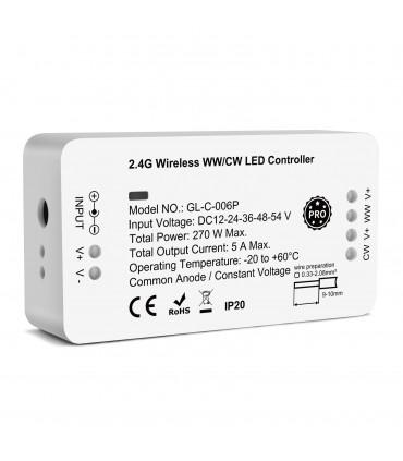 Sterownik ZigBee do pasków LED biały WW CW Hue