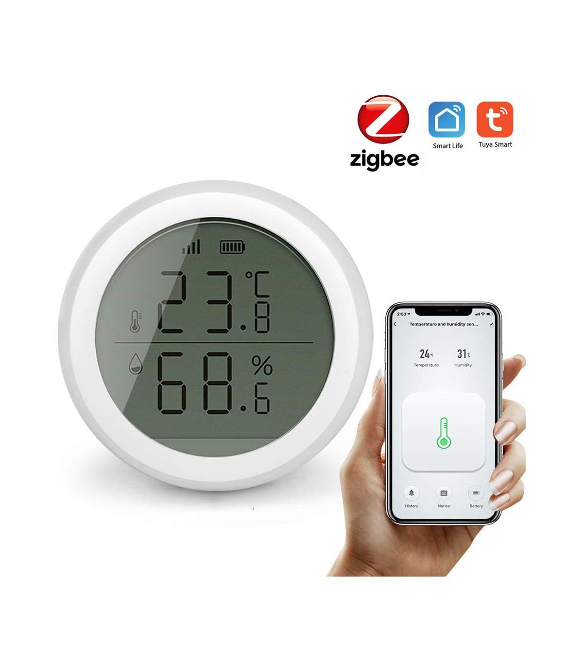 Czujnik temperatury wilgotności ZigBee TUYA Smart