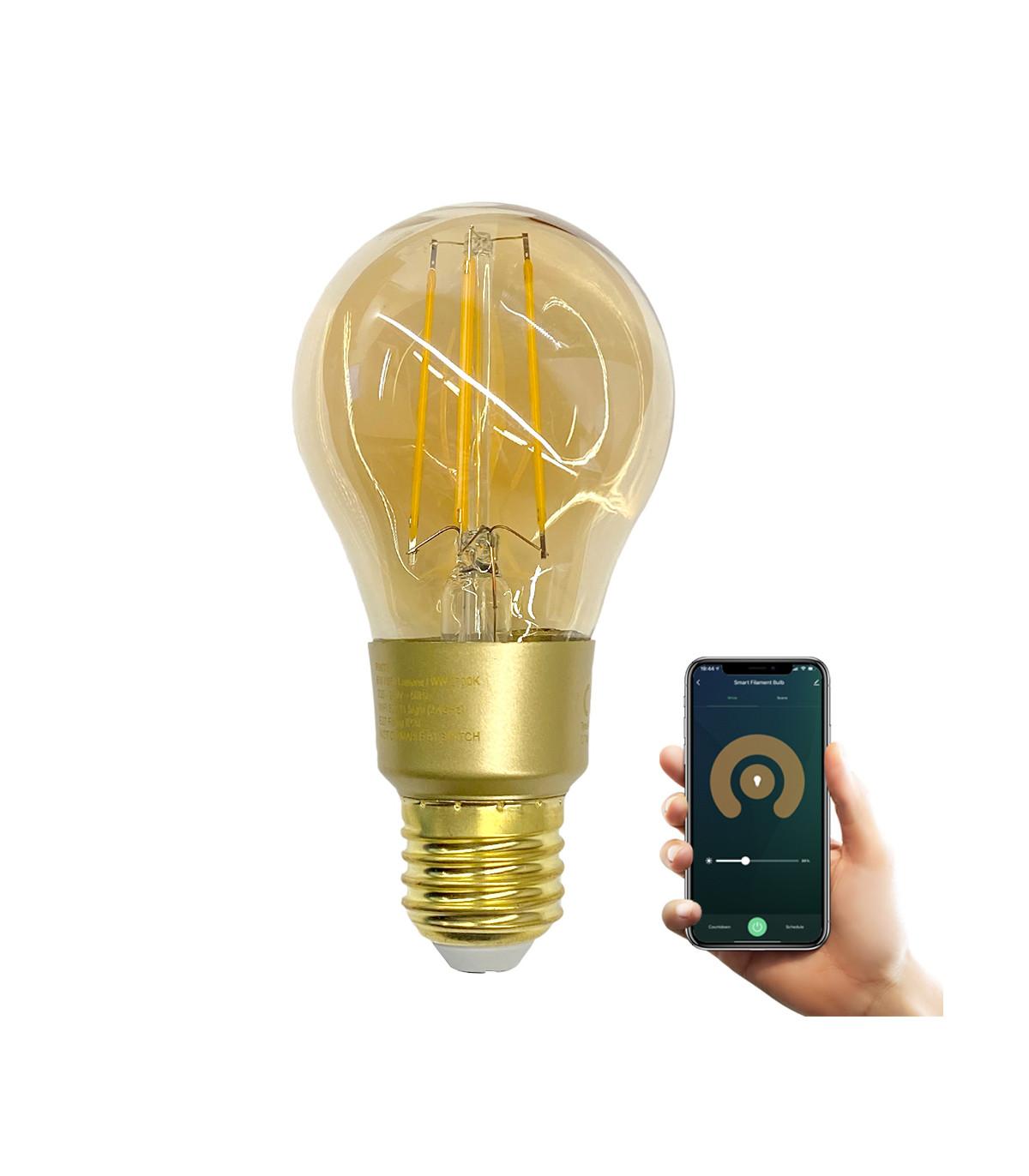 Żarówka ozdobna LED 6W E27 WiFi Tuya