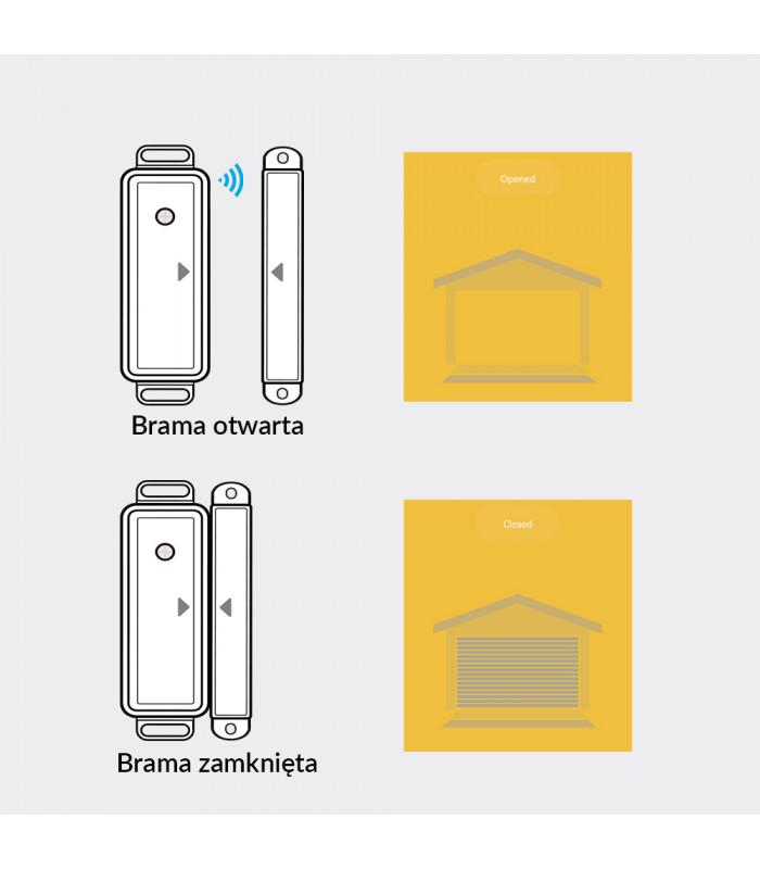 Sterownik bramy garażowej TUYA WiFi