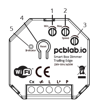 Ściemniacz WiFi Smart Life bez N