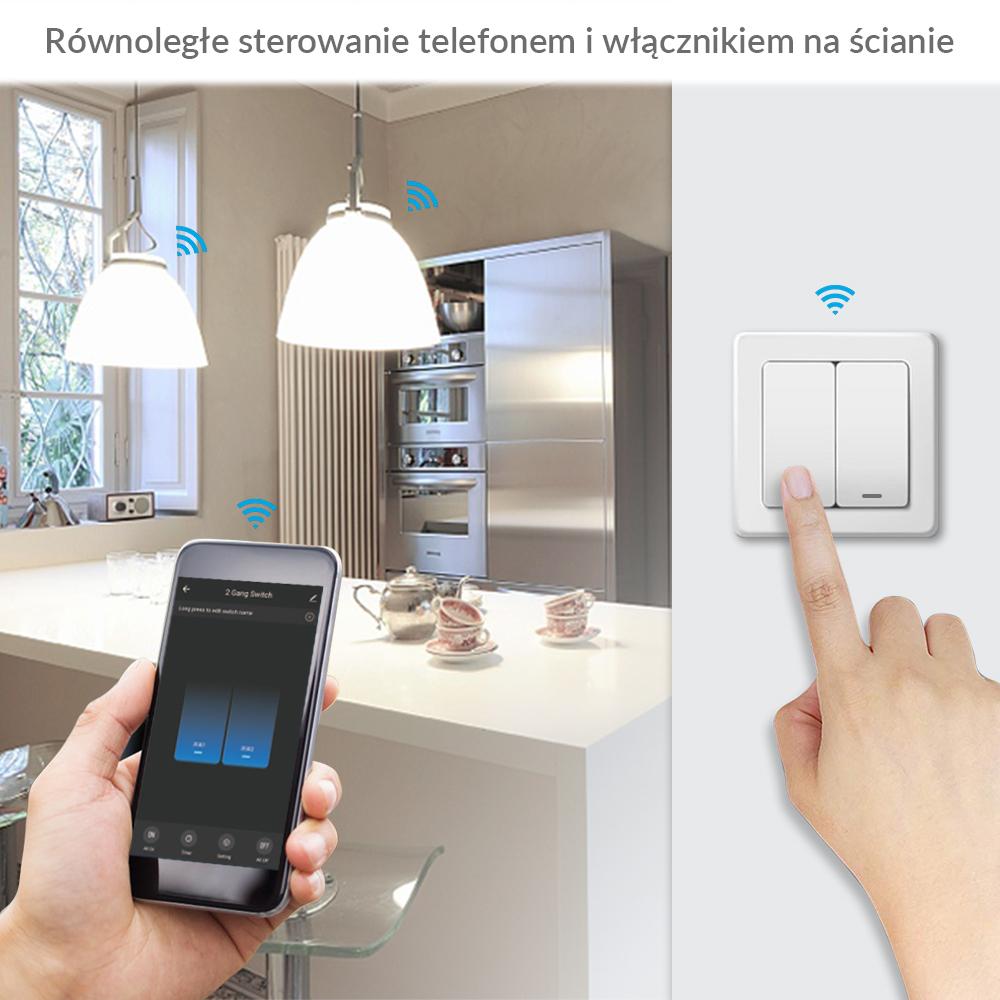 Bezprzewodowy włącznik światła