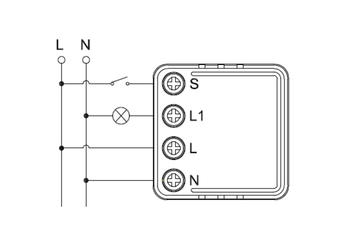 Mini TUYA schemat