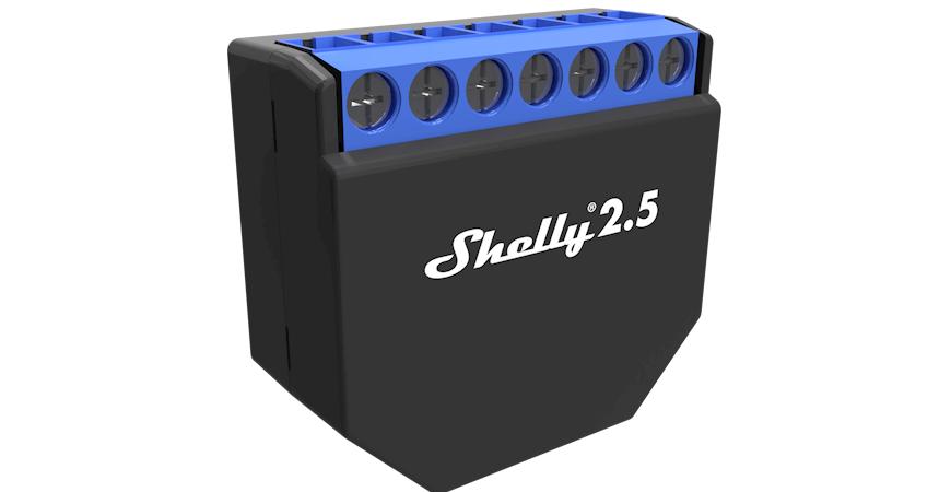 Shelly 2.5 - Nowy, mnejszy i jeszcze lepszy!