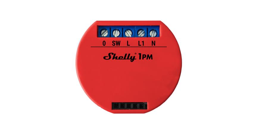 Shelly 1PM oficjalnie!